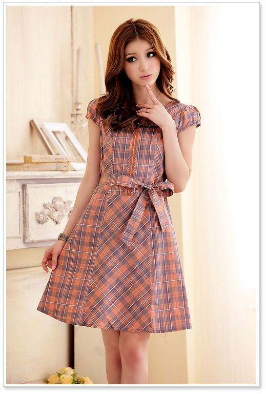Wholesale Japanese Dress J3205 Orange Japanese Dreses Pinterest Wholesale Clothing Korean