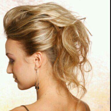 messy hairdo rock chick | Hair!!! | Pinterest | Rock chick, Hair ...