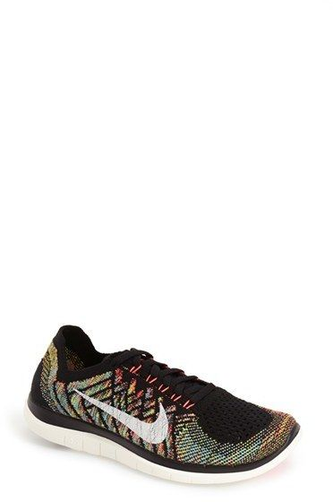 Nike 'Free 4.0 Flyknit' running shoe on ShopStyle