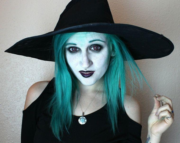 Maquillaje de bruja para halloween Pinterest