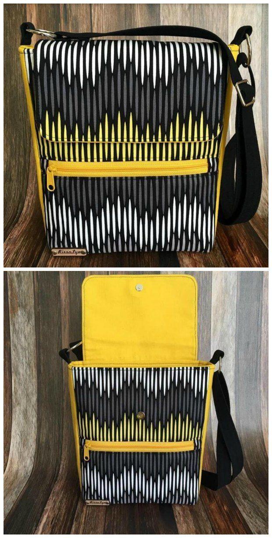 Taylor Unisex Messenger Bag - free | Quilt tasche, Taschen ...