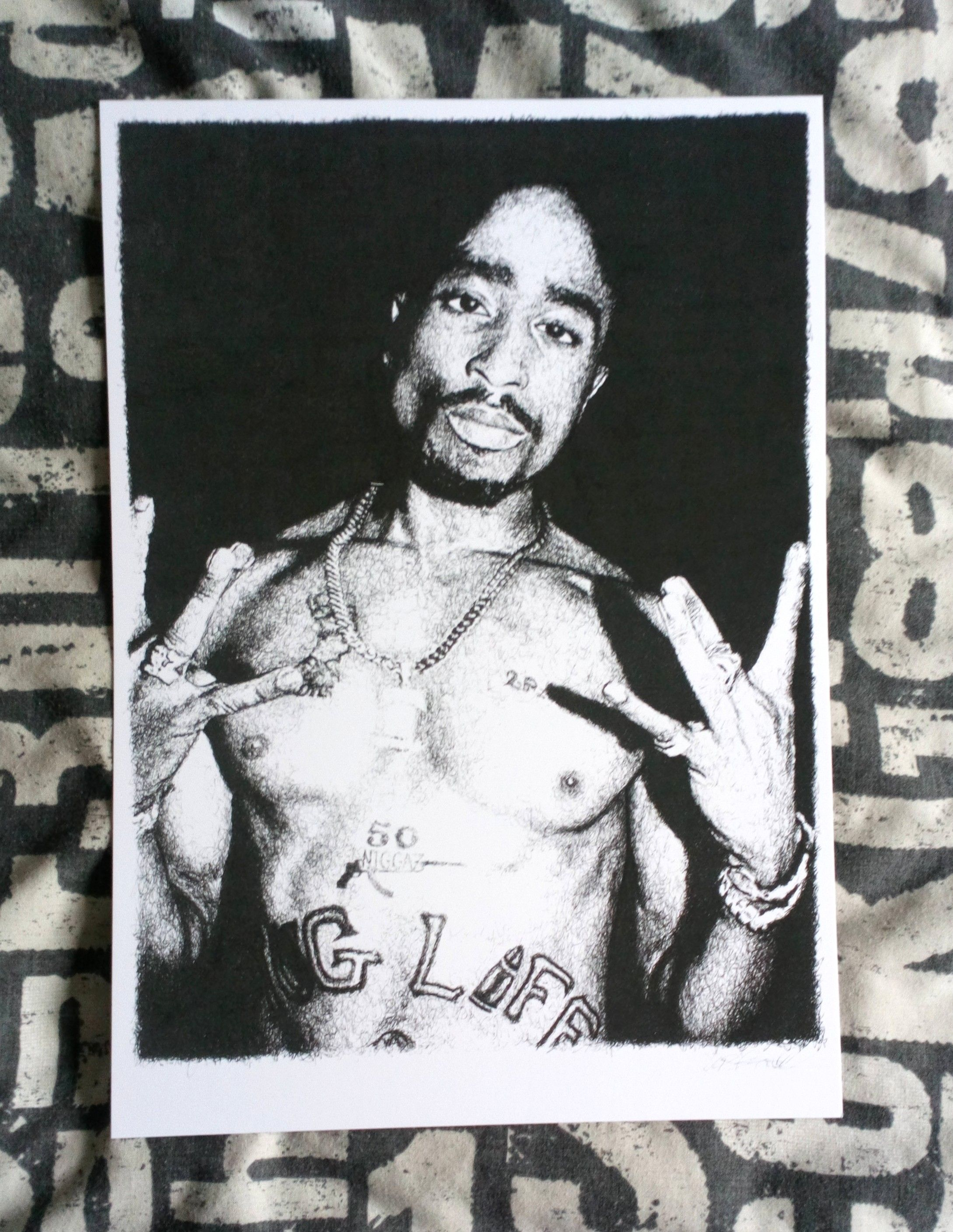 tupac 2pac print hiphop | hiphop dancer | hiphop wallpapers | hiphop