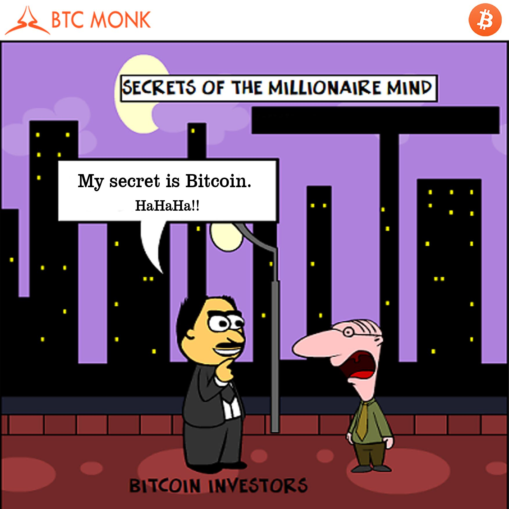 Bitcoin investment is the safest way to earn money. Read