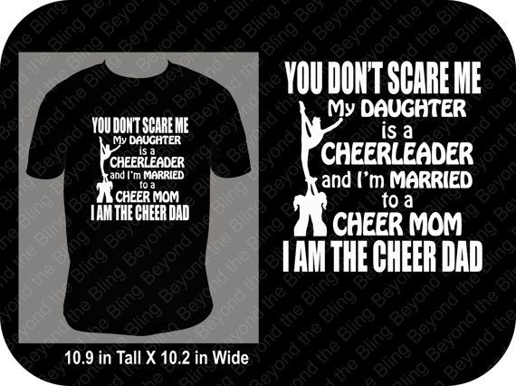 05a43796 Cheer dad shirt daughter is a cheerleader shirt married to a by  BeyondtheBlingUSA | Etsy