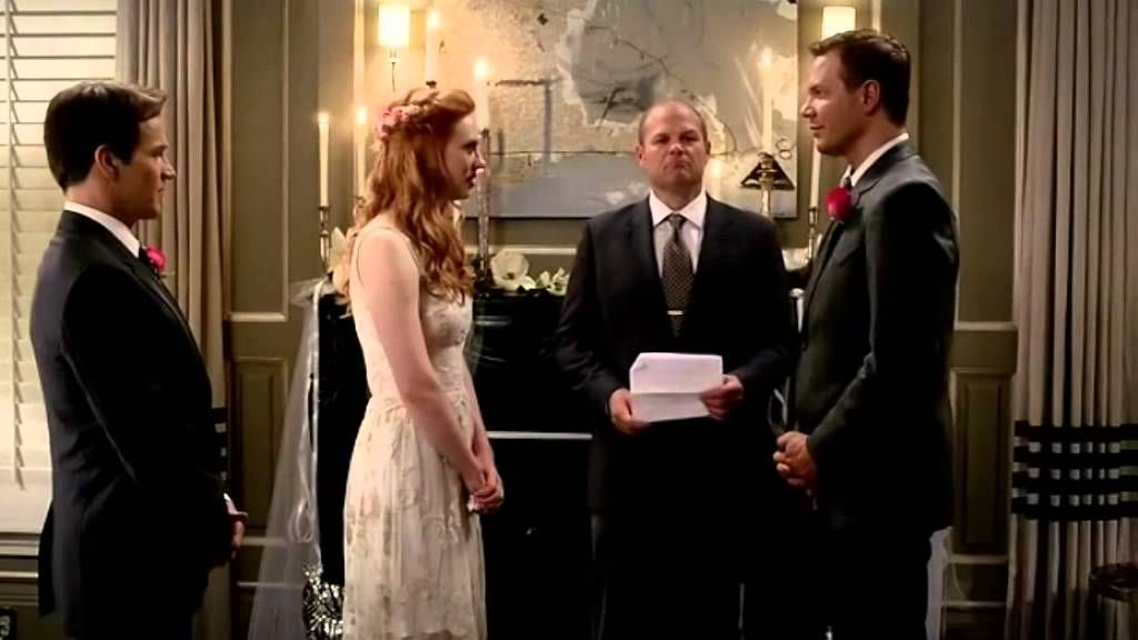 True Blood 7x10 Bill gives Jessica away at her wedding