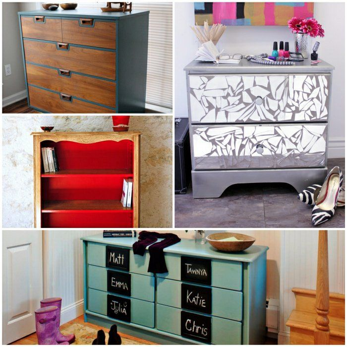 ausgefallene kommoden die alte kommode effektvoll neu gestalten diy pinterest kommode. Black Bedroom Furniture Sets. Home Design Ideas