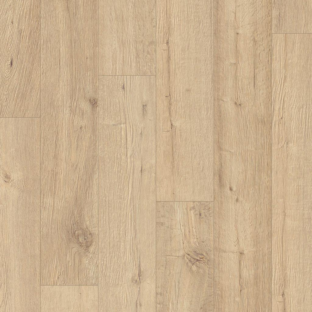 Sandblasted Oak Natural 12mm No Underlayment Attached