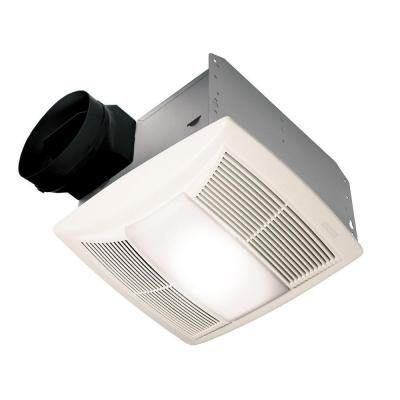 Nutone Qt Series Quiet 130 Cfm Ceiling Exhaust Bath Fan With Light New Bathroom Fan With Light 2018
