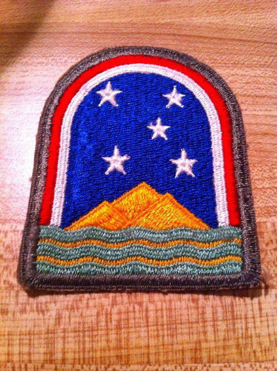 WWII US Army Forces South Atlantic Patch on Etsy, 10.00