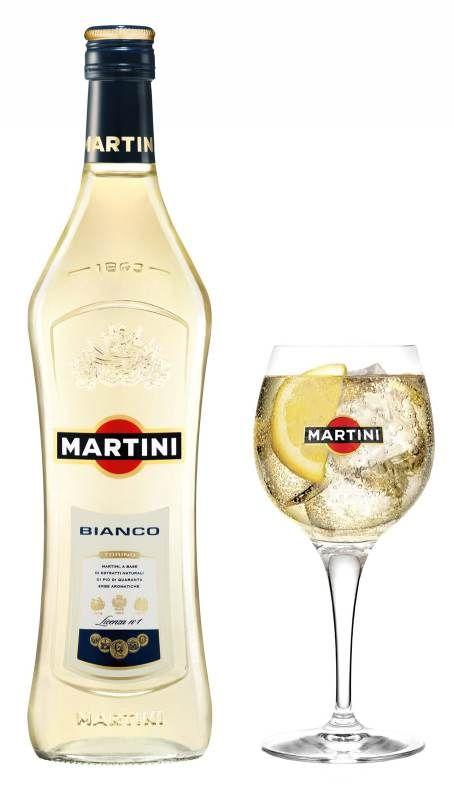 Con bianco cocktails martini 5 Cinzano
