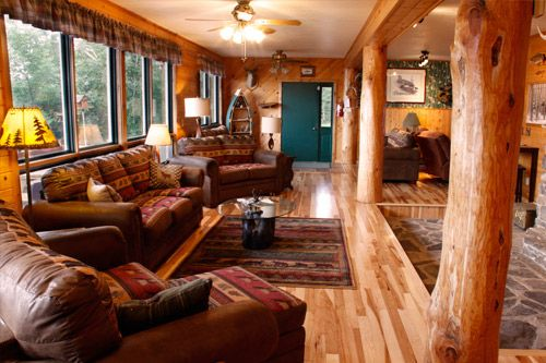 Our favorite vacation spot! Cross River Lodge has lakeside