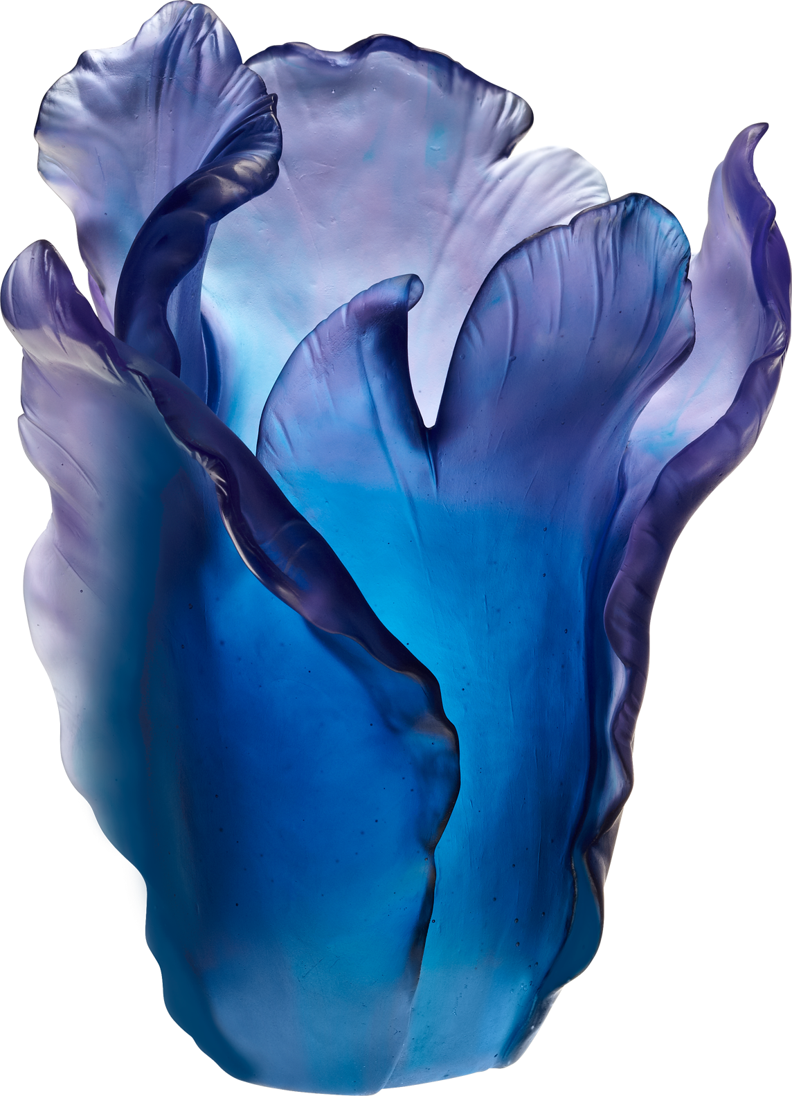 Daum tulip large vase in blue purple blue pinterest fairy daum tulip large vase in blue purple reviewsmspy