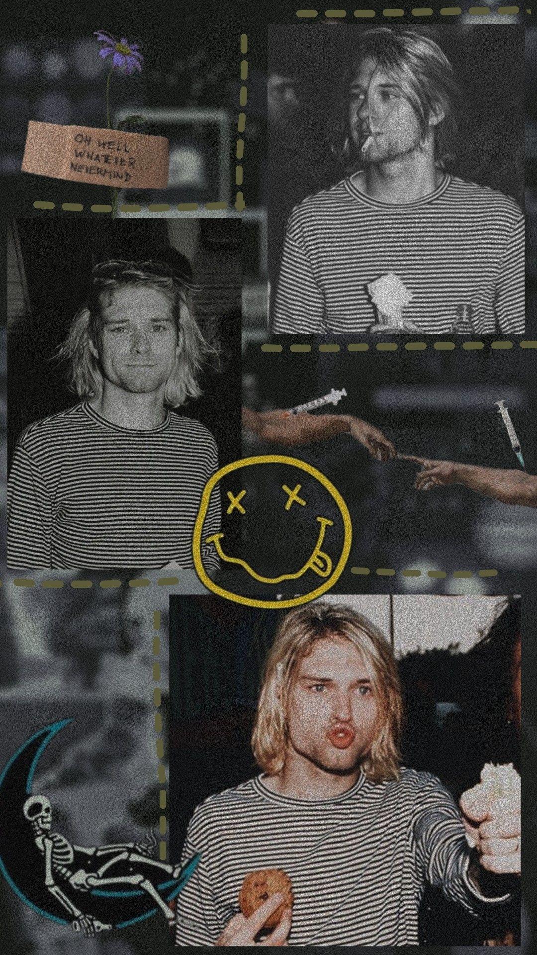 Wallpaper Kurt Cobain Nirvana Art Nirvana Wallpaper Nirvana Poster