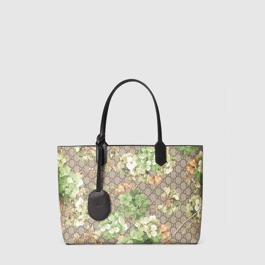 ef2389bd0412 Gucci Reversible GG Blooms leather tote | bags - tas | Gucci ...