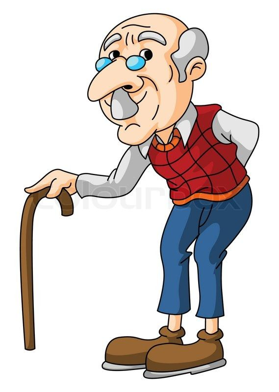 Image result for old man cartoon images | Old man cartoon, Man ...