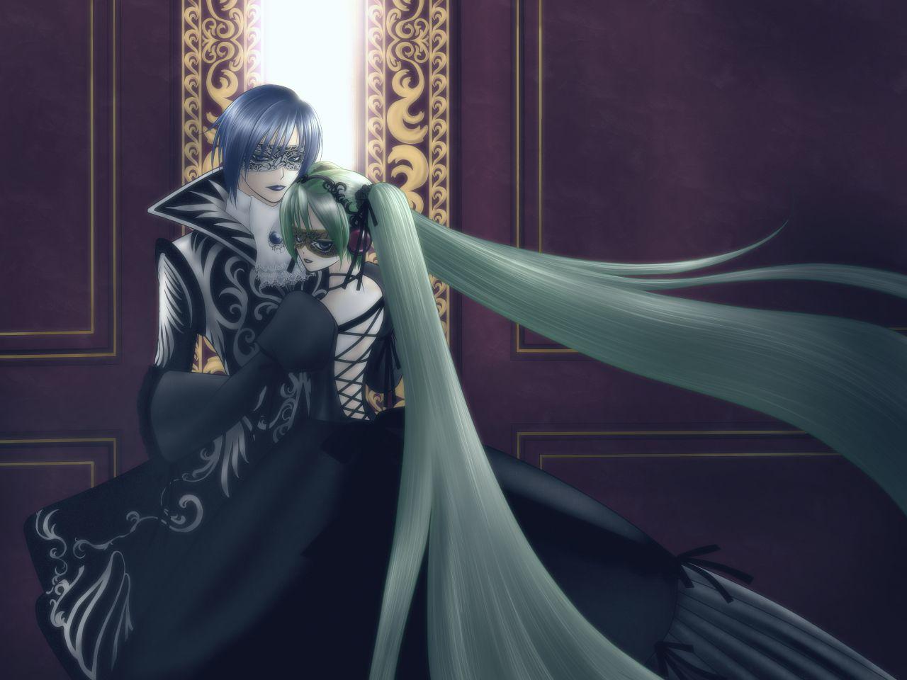 Kaito S Cantarella With Hatsune Miku Vocaloid Wiki Voice Synthesizer Kaito Hatsune Miku Vocaloid