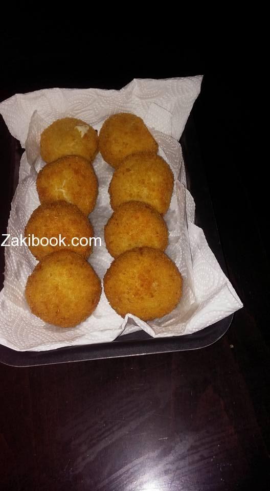 كرات الدجاج المحشيه جبنة موتزاريلا زاكي Ramadan Recipes Cooking Recipes Recipes