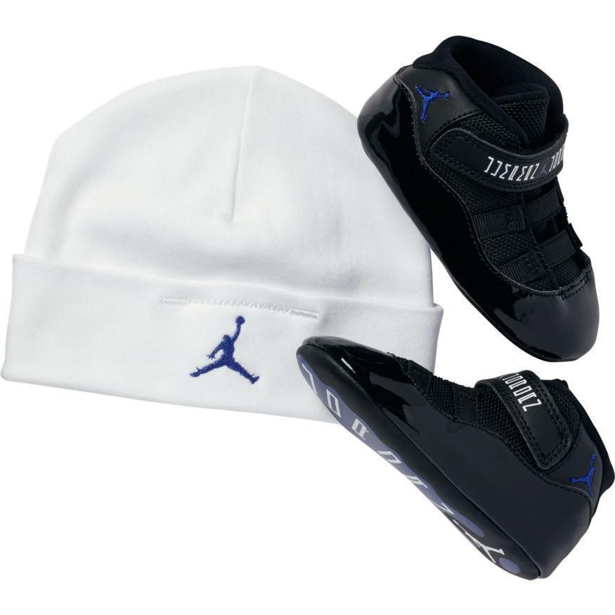 460b33d623a5ae Infant Nike Air Jordan 11 Retro Space Jam Gift Pack 378049 003 Crib Baby  Size 1c  Nike  SoftBottomBabyShoes