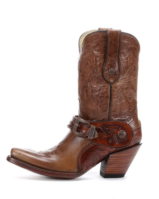 f0e5c797a0367a Corral Women s Saltillo Golden Harness Tooled Sole Boot - G1907