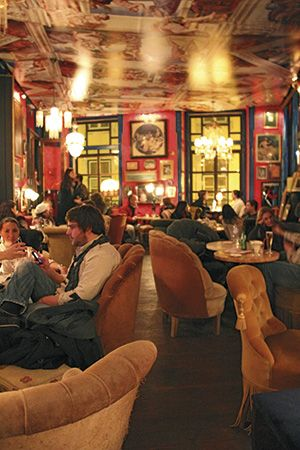 The Art of the New Lisbon - via SilverKris - The Travel Magazine of Singapore Airlines 24.02.2015   The Portuguese capital fuses a captivating mix of passion and creativity that's sparking its regeneration. Photo: Drinking in the atmosphere at Pensao Amor