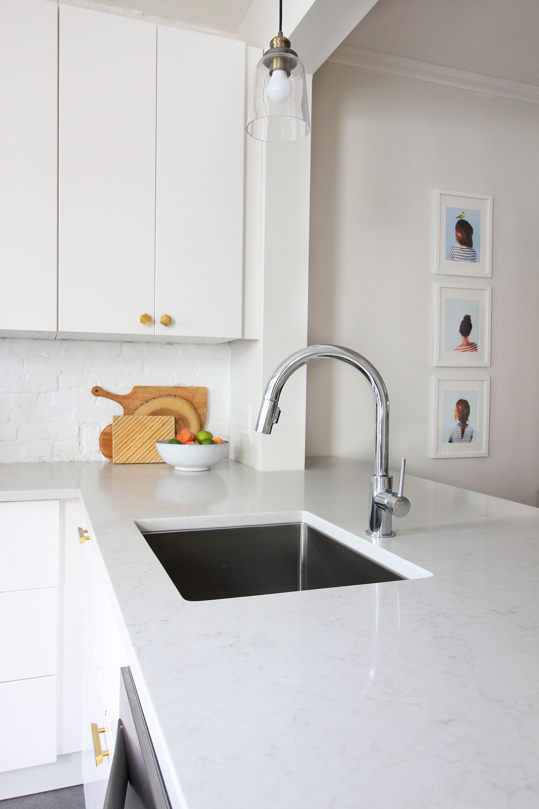 Our Modern White Kitchen Renovation Two Years Later
