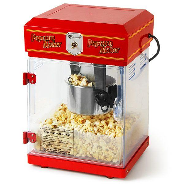 Beautiful Tabletop Popcorn Machine...treats!! #UltimateTailgate #Fanatics