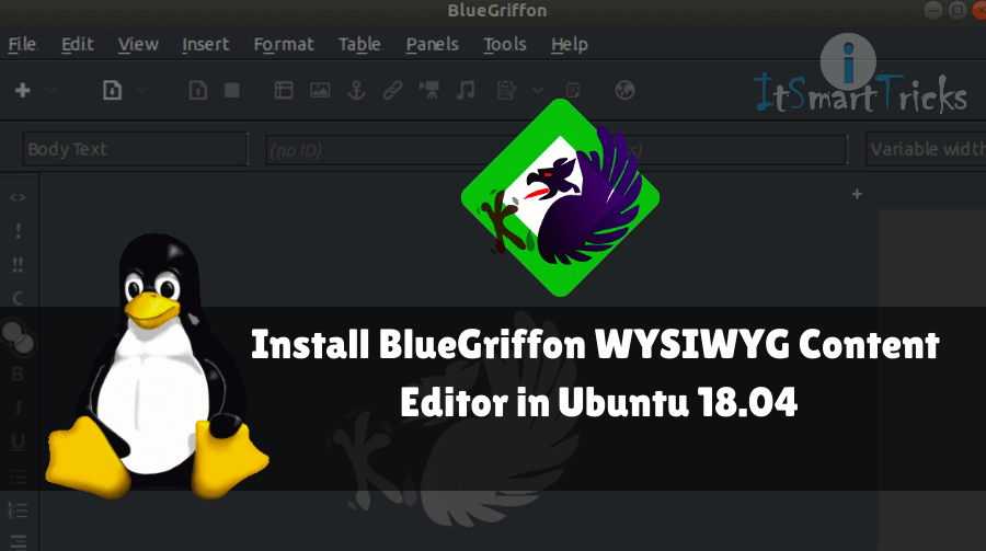 In this article, we will learn How to install BlueGriffon WYSIWYG