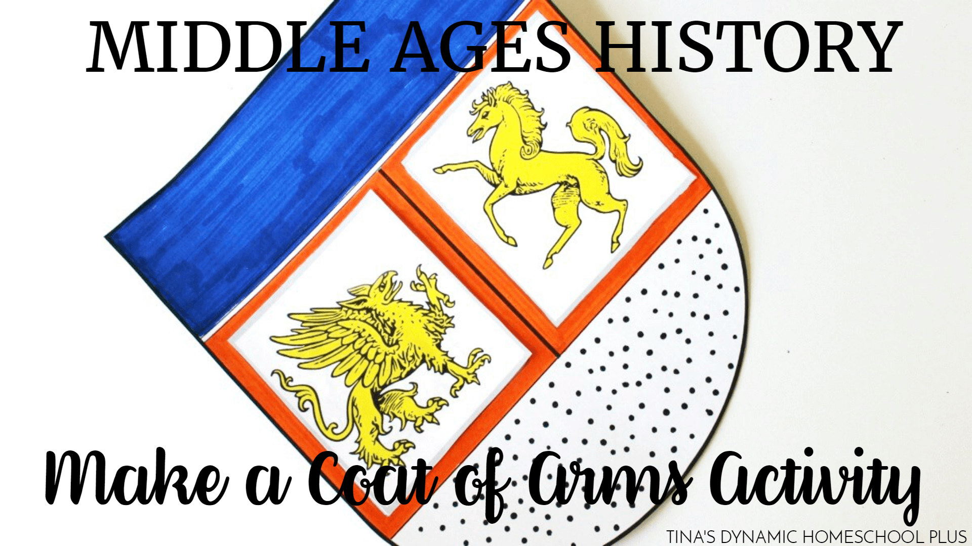 Hands On History Make A Coat Of Arms Activity