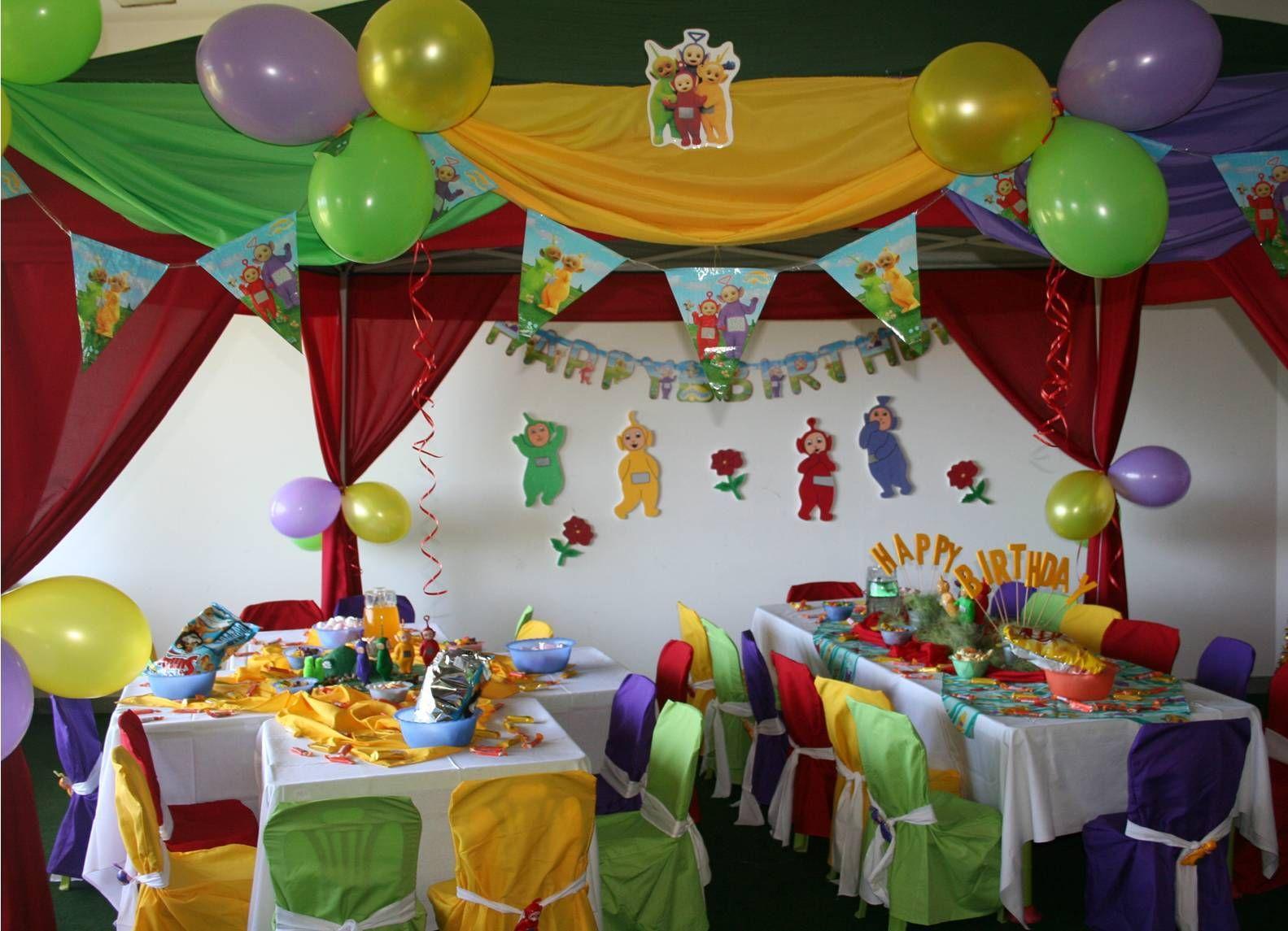 Teletubby Birthday Party Google Search Teletubbies