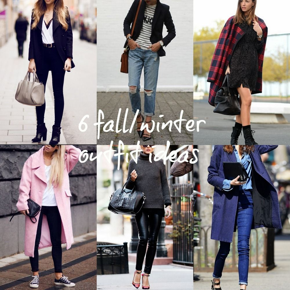 6 fall/winter easy look ideas