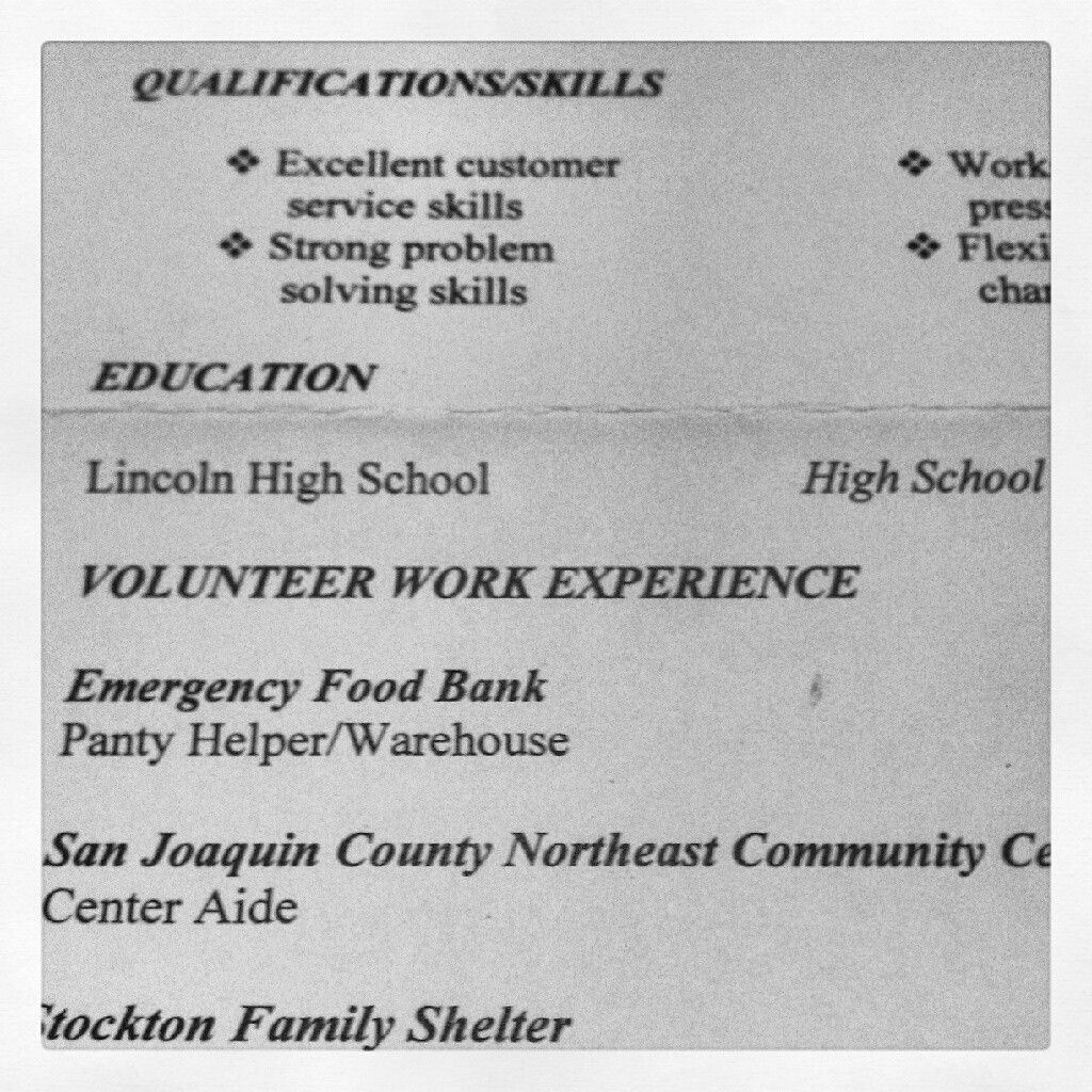 People please proof read the resumes before you mail them