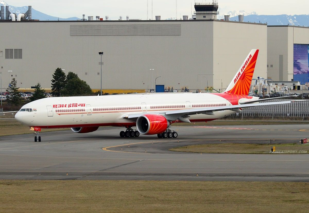 Air India Fleet Boeing 777300ER Details and Pictures. Air
