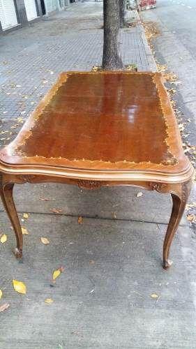 Mesa comedor frances luis xv extensible muebles antiguos for Quiero ver comedores