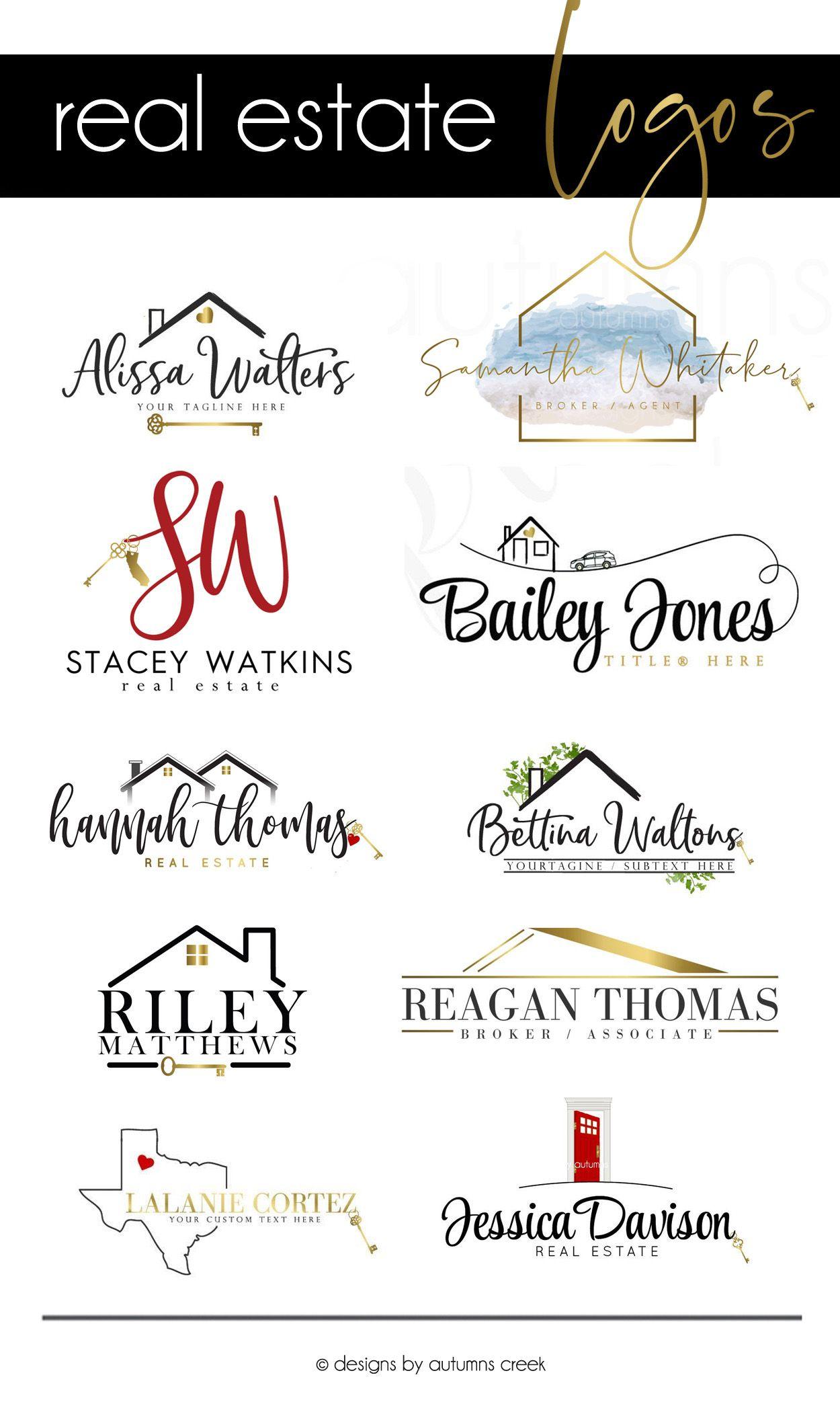 real estate marketing real estate logo designs realtor