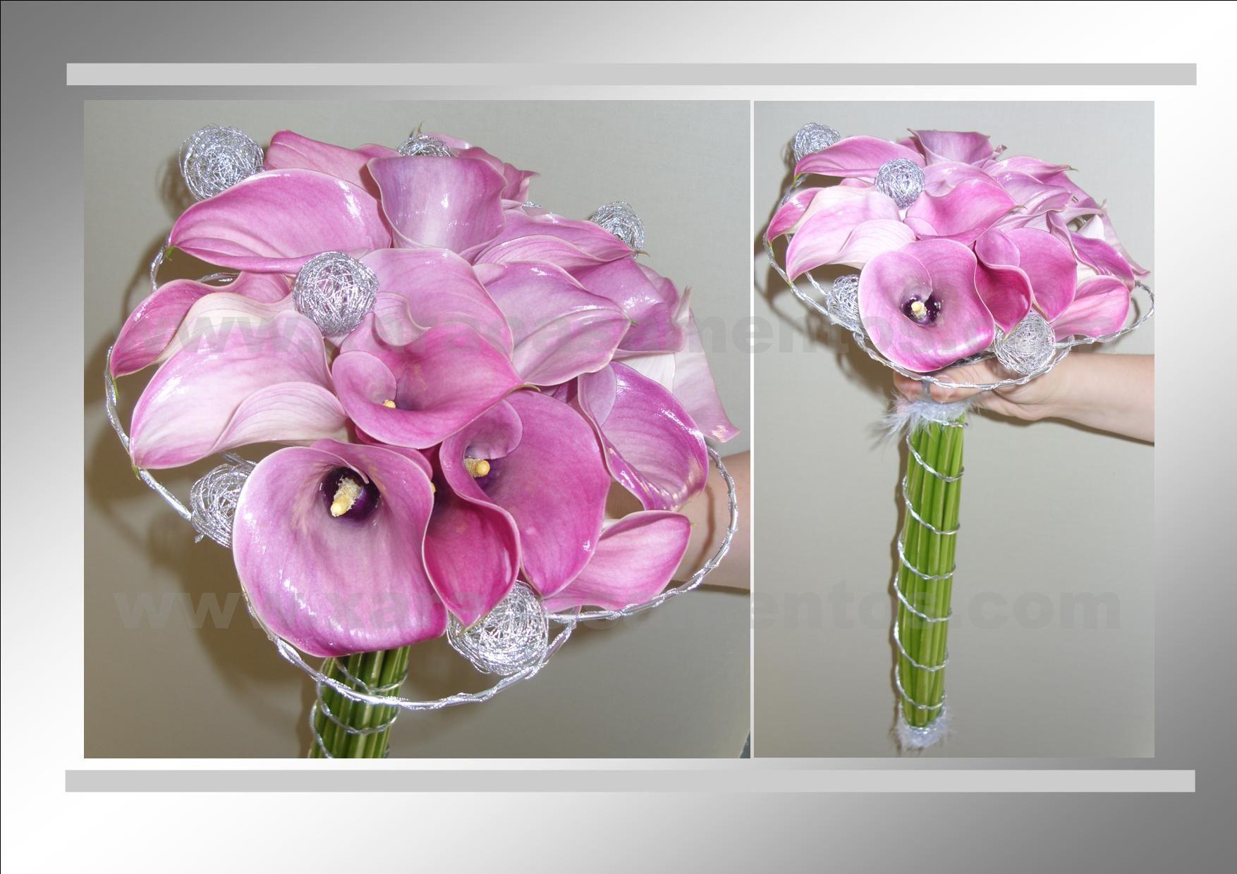 Ramo de noiva de jarros rosa. Mais um exemplo by Xara Casamentos ...