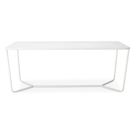 Outside Rectangle Dining Table White   Modern By Dwell Magazine : Target