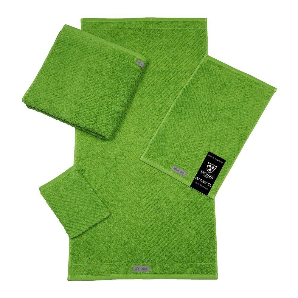 ross uni-rippe handtücher smart grasgrün, Badezimmer ideen