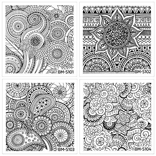 Listed Price 22 50 Sale Price 14 99 Go To Reverse Nail Stamping Heaven With This Beautiful Shangri Nail Art Stamping Plates Bundle Monster Stamping Plates