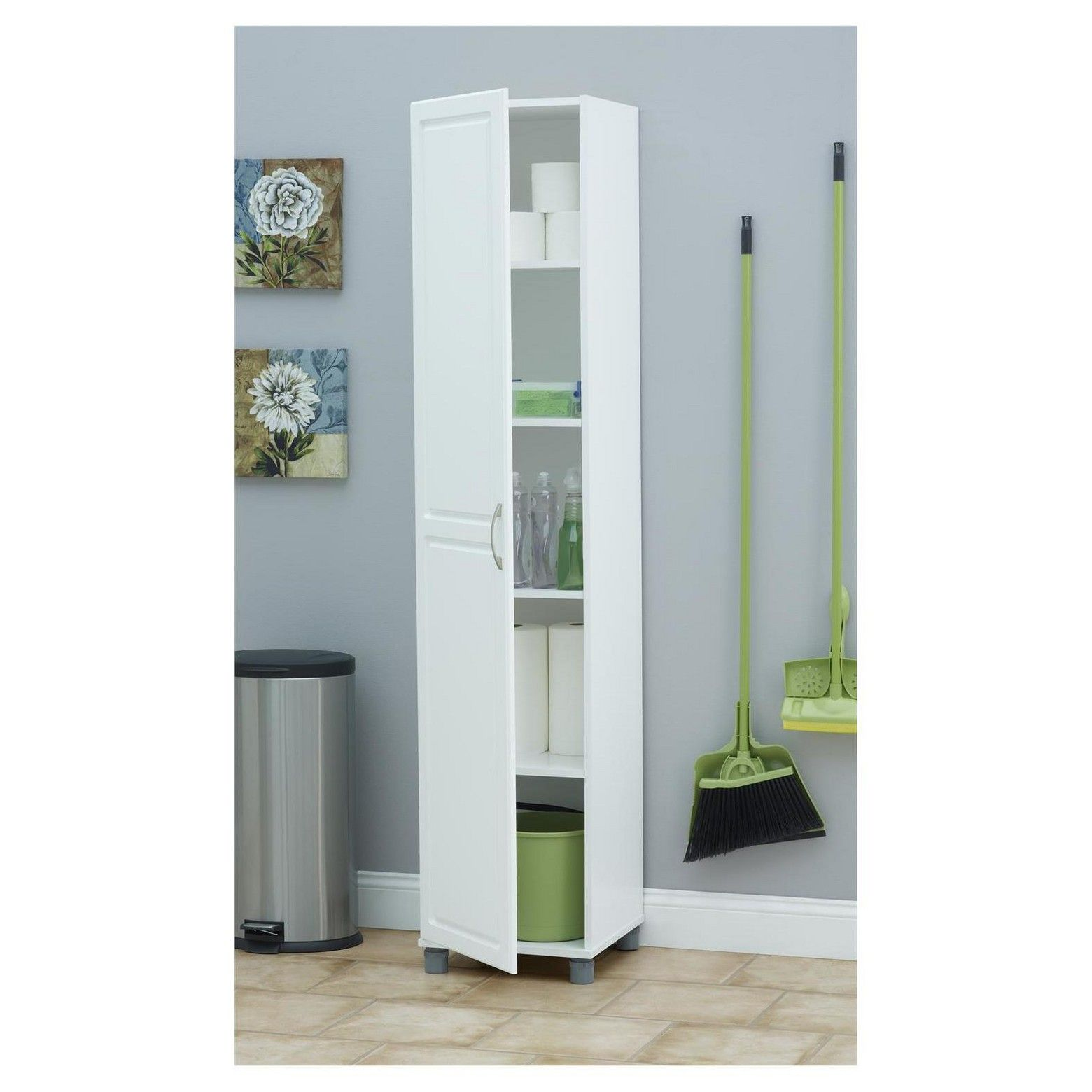 Kendall 16 | Storage cabinets, Storage ideas and Floor space