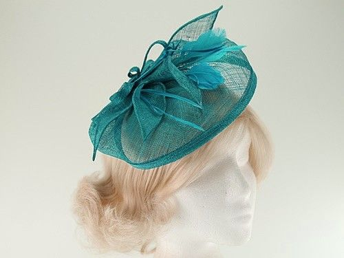 Latest Fascinators  Sinamay Veil and Leaves on clip (Price  £17.99 ... 4b726cec616