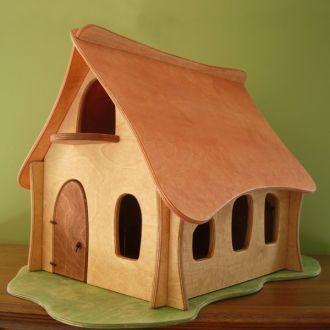 Quiet Hours Toy Wooden Dollhouse Wooden Toys Toys