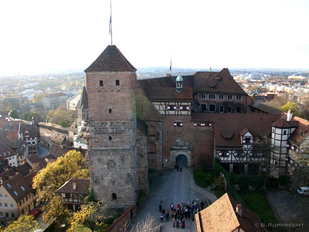 Kaiserburg Castle Nurnberg Germany Deutschland Burgen Burg Nurnberg