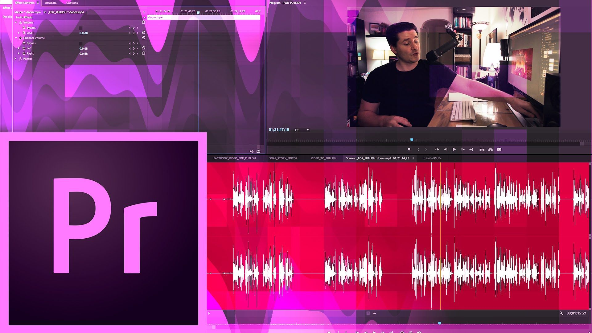 Premiere Pro CC How to Make Audio Sound Better Premiere