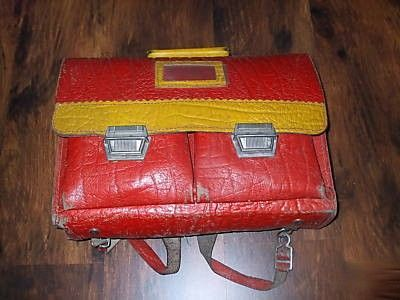 My School Bag Looked Just Like This Old Leather Durable For