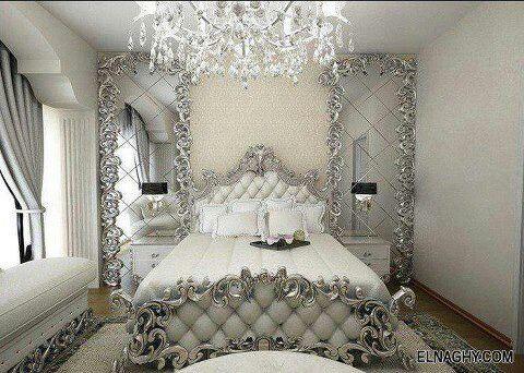Best Ornate White Silver Bedroom Silver Bedroom Bedroom 400 x 300