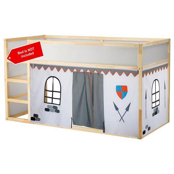 ch teau de lit playhouse lit tente loft rideau de lit rideau de lit en 2019 lit lit. Black Bedroom Furniture Sets. Home Design Ideas