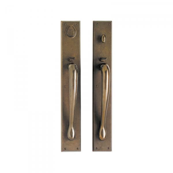 Rectangular Entry Set 3 1 2 X 24 Mortise Lockentry Doorsfront Doorsdoor Setsrocky Mountainsoutdoor Lightinglockshardwareexterior
