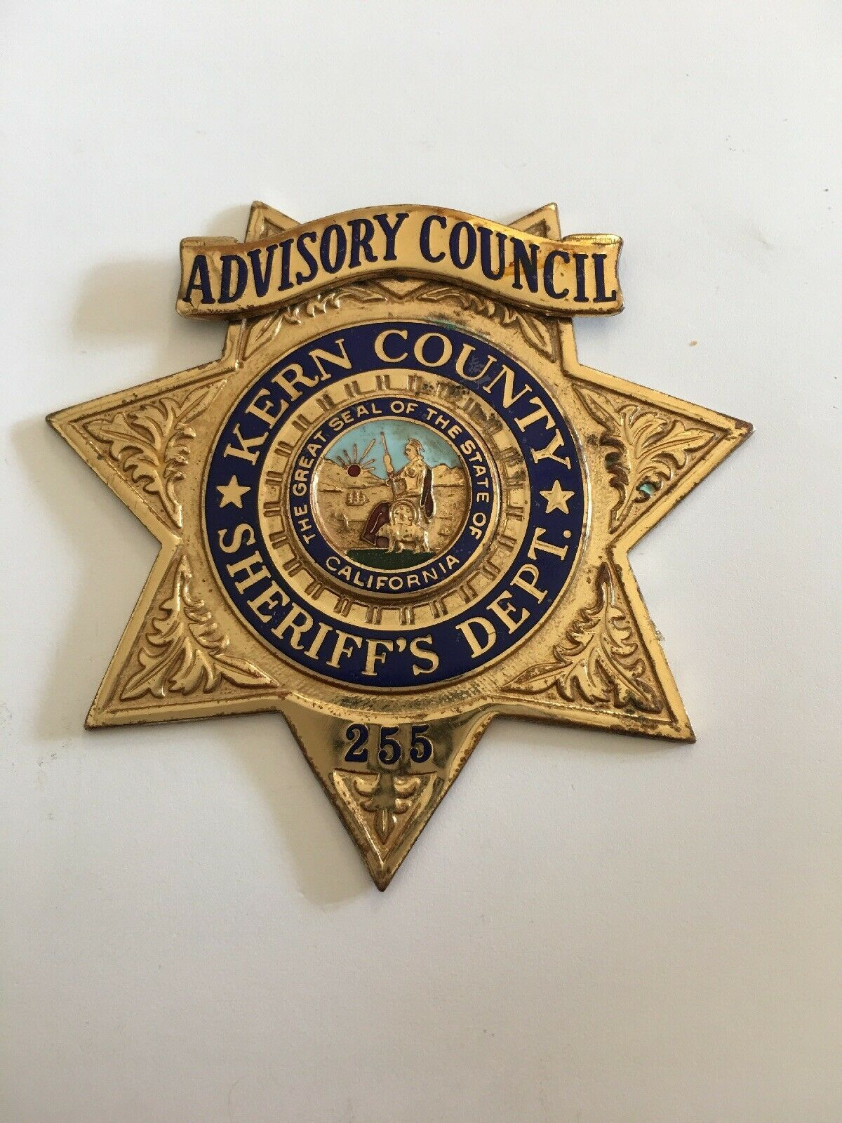 Advisory Council, Kern County Sheriff's Department