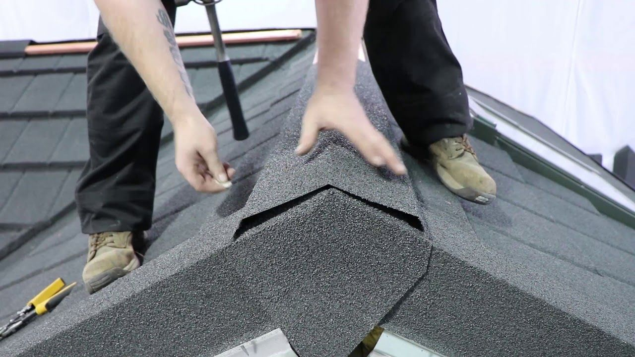 How To Tile A Roof With Lightweight Metal Roof Tiles Ridge Youtube Metal Roof Tiles Roof Tiles Roof