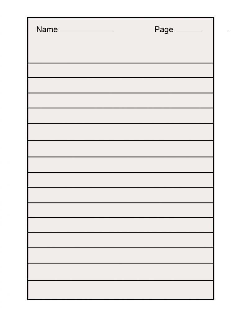 15 Download A4 Lined Paper Templates In 2020 Paper Template Lined Paper Printable Lined Paper